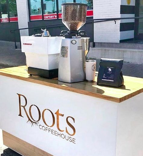 The Roots Coffee Cart!