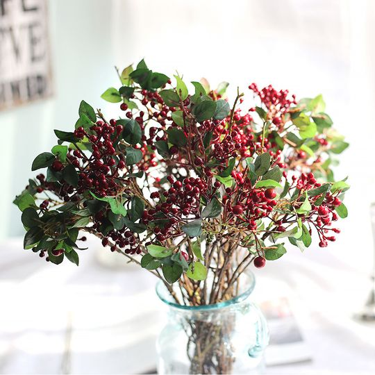 Artificial holly berries