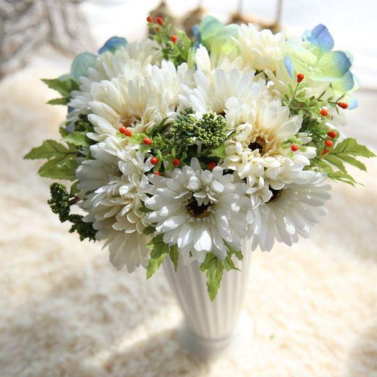Silk gerberas bouquet