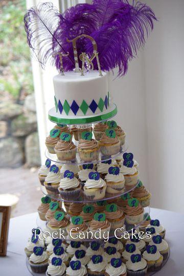 Rock Candy Cakes - Wedding Cake - Livermore, CA - WeddingWire