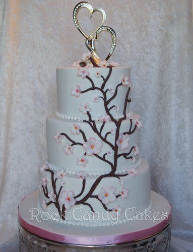 Tmx 1402728094282 Cherry Blossom Wedding Livermore wedding cake