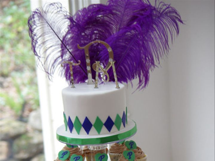 Tmx 1402728099191 Mardi Gras Cupcake Tower Livermore wedding cake