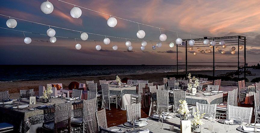 Beach reception location