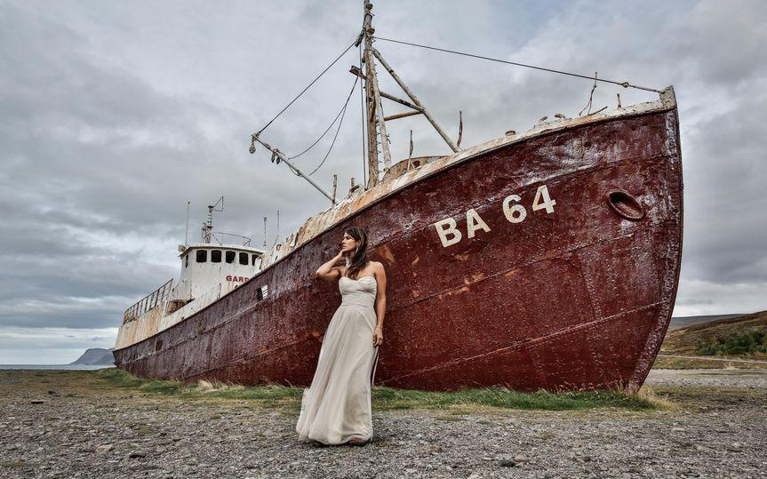 BA64 Shipwreck Iceland