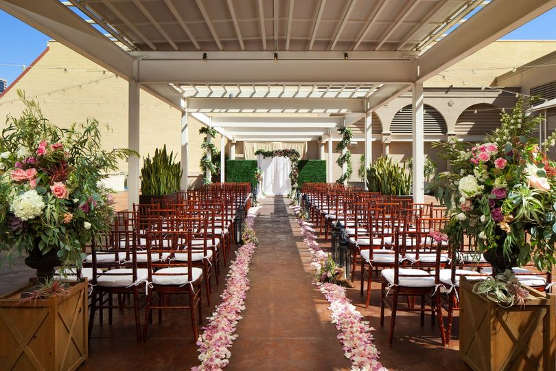 Garden Terrace ceremony