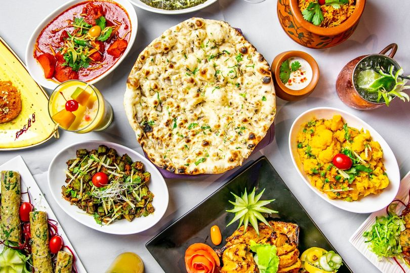 South Asian dishes