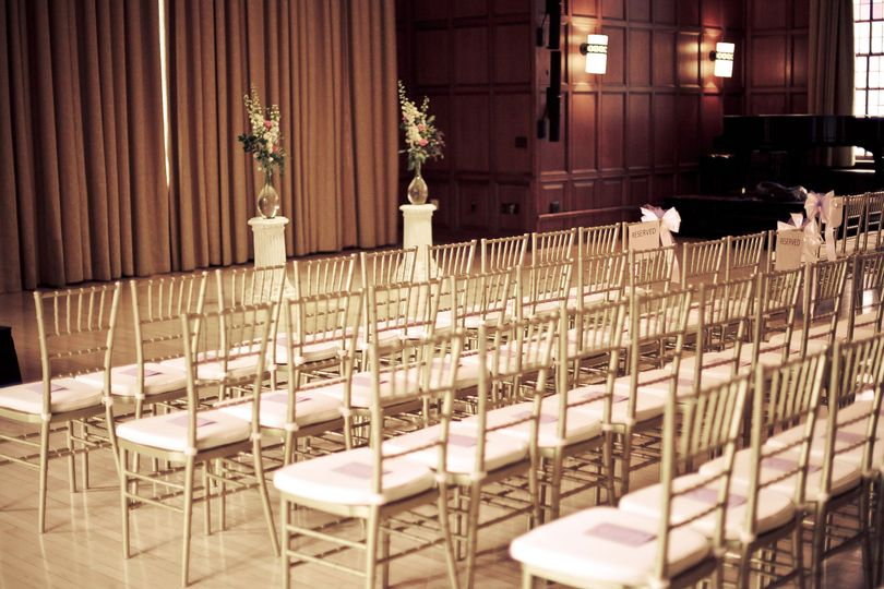 Chairs for the wedding