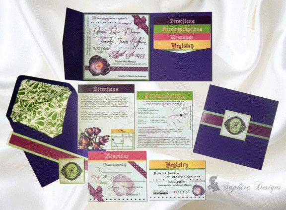 Purple Crocus Flower Collection