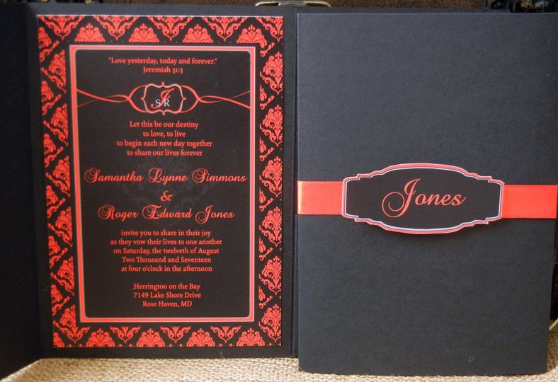 regal red invite