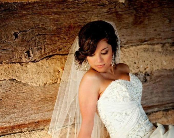 Lounging bride