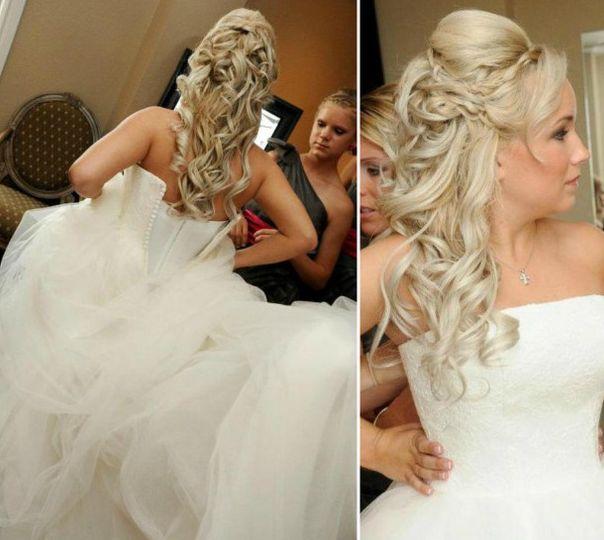 The bridal details