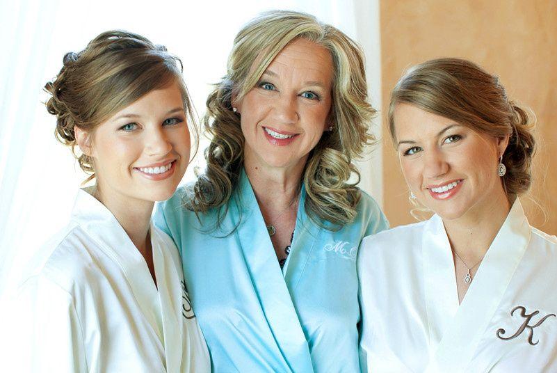 Gorgeous trio