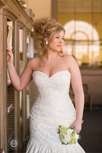 Turmec » wedding hairstyles to go with strapless dress