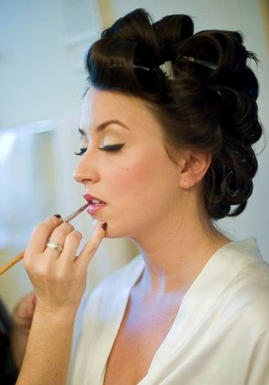 Bridal Hair and Makeup- HMUA for Bride- Angelique Verver Photography- Jeff Sampson Photography