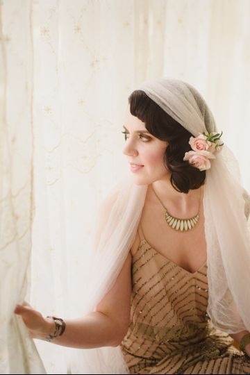 Vintage 1920s inspired shoot HMUA- Angelique Verver Photography- Anne Mantz