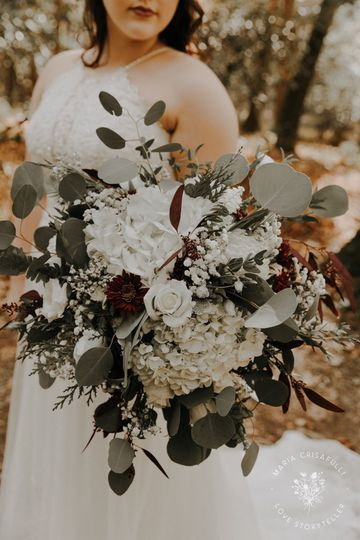 Romantic and wistful bouquet