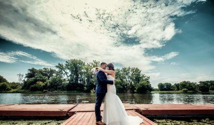 The wedding of Marina and Jordan