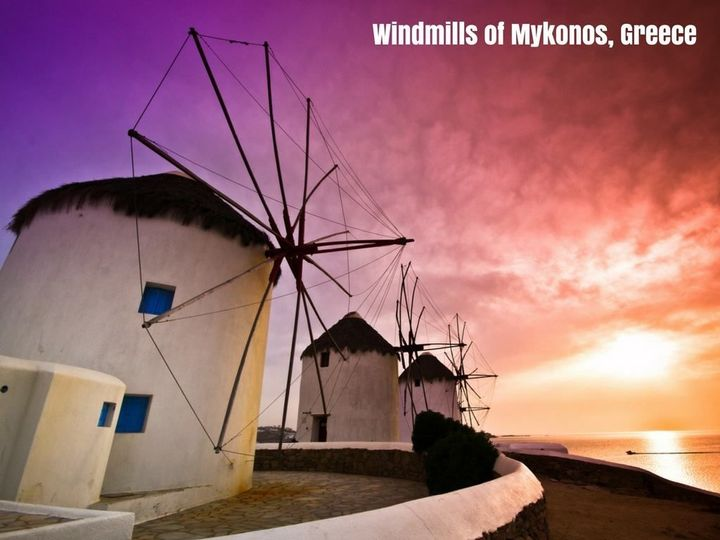 Windmills of Greece