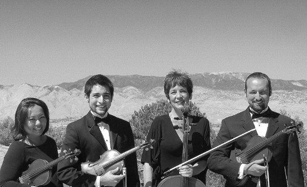 Our traditional string quartet