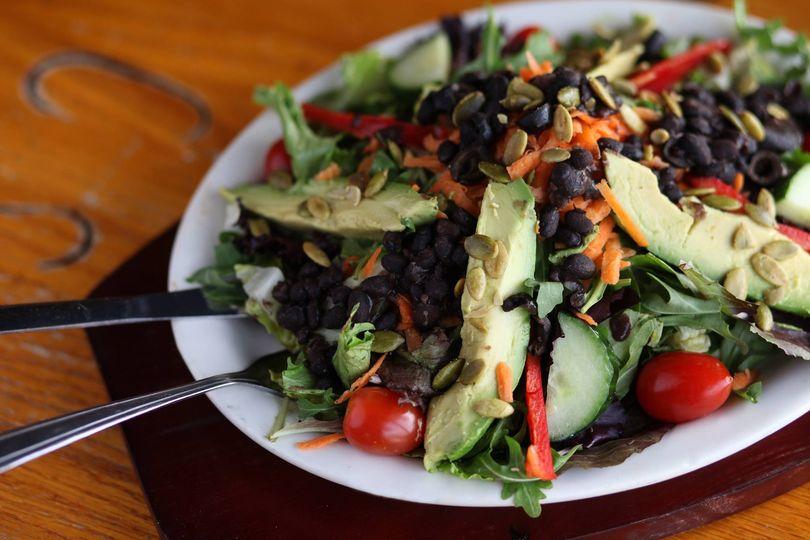 Fresh creative salads