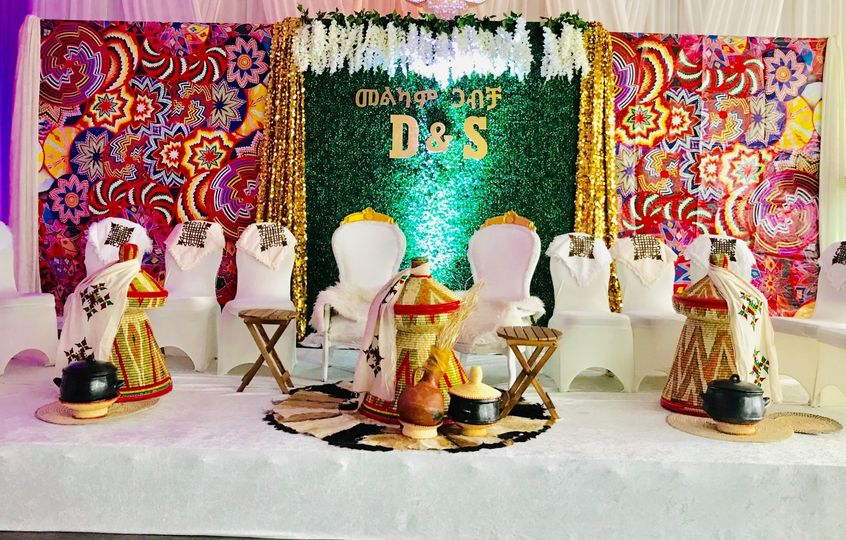 Habesha traditional decor