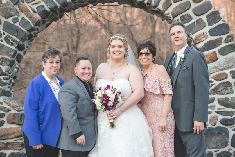 The Parents with Bride&Groom