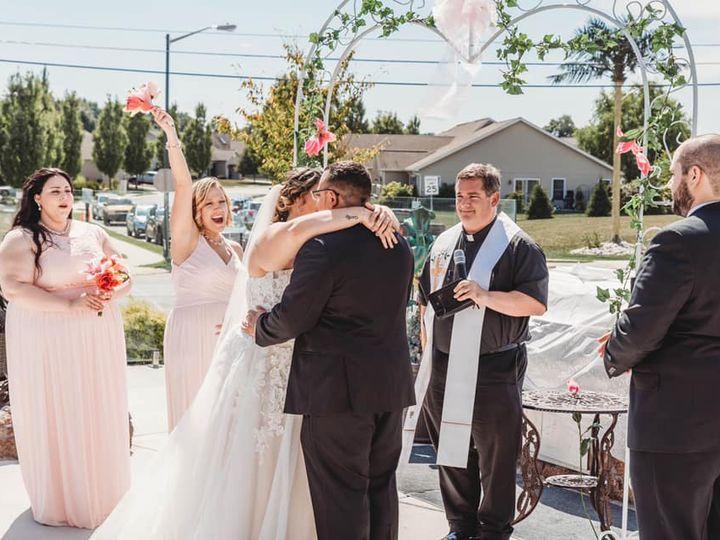 Tmx 6 083119 Haley And Giovanni 2 51 1011343 162040201798789 Carlisle, PA wedding officiant