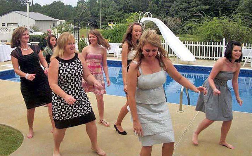 Pool side wedding 1 of 3