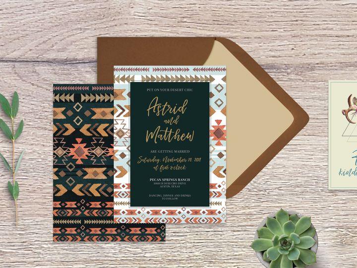 Tmx Astrid Mockup 5 51 1003343 1560622909 Madison, WI wedding invitation