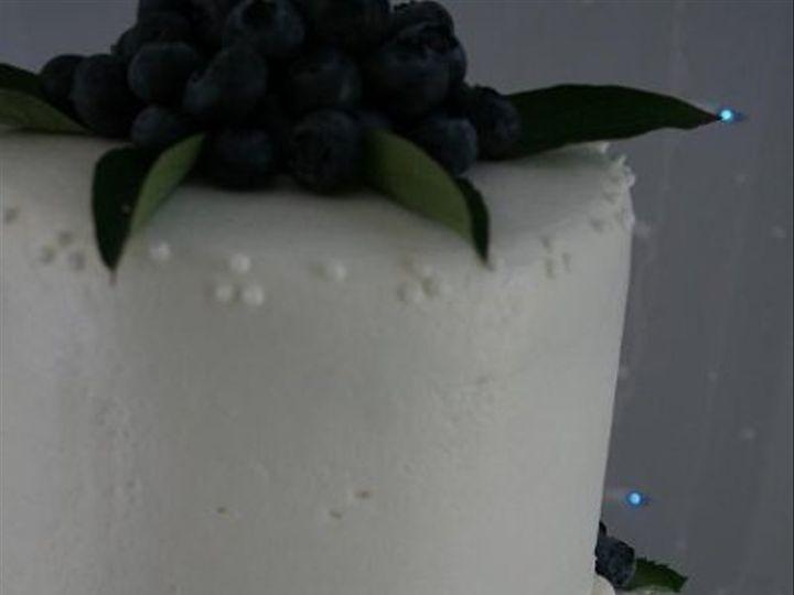 Tmx 1250470135340 BlueberryMintClose Walpole wedding cake