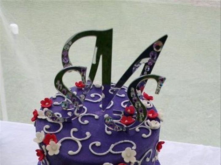 Tmx 1250470152434 DarkPurple Walpole wedding cake