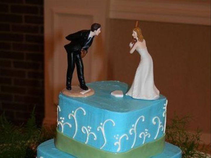 Tmx 1250470162481 SquareBlueGreen Walpole wedding cake