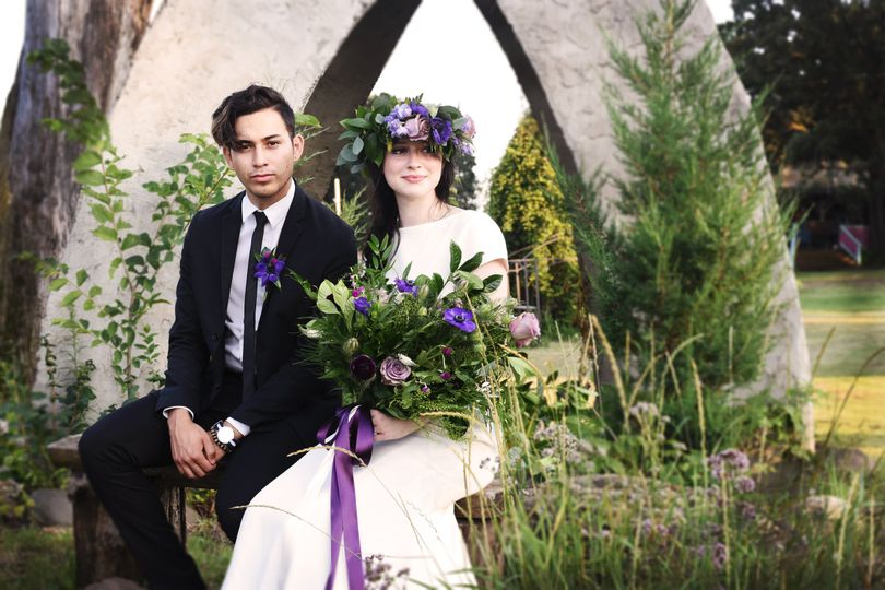 Dress: Posh Bridal Couture Wayzata Photography: Abigail Ann Photography Models: Jazer Mauricio and...