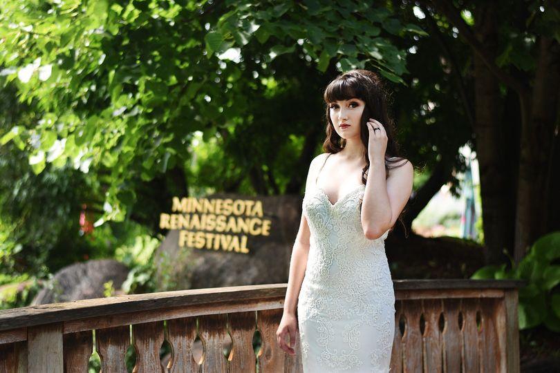 Dress: Posh Bridal Couture Wayzata Photography: Abigail Ann Photography Models: Katie Rapley Hair:...