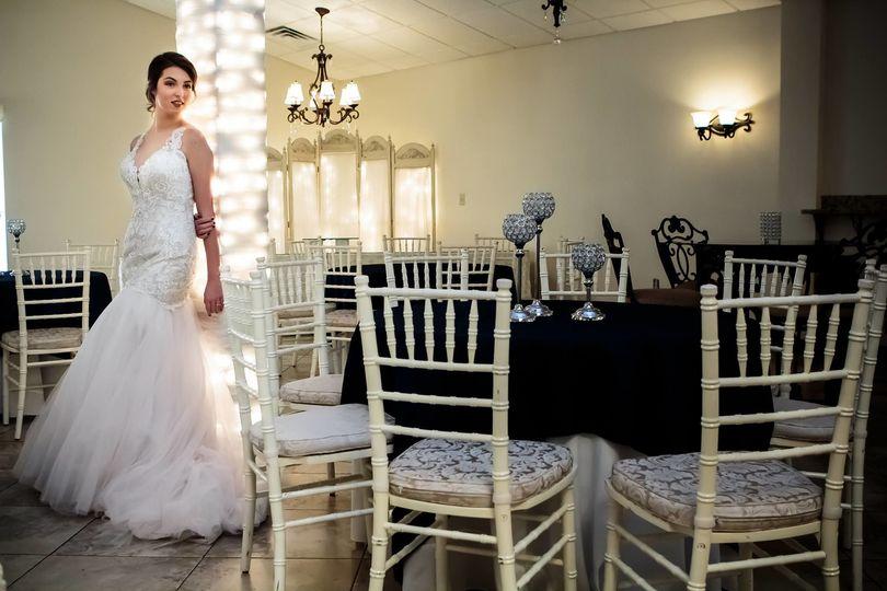 Bride at the venue
