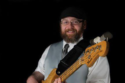 Liam Sullivan on electric bass