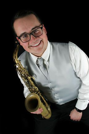 Mike Weber on saxophone
