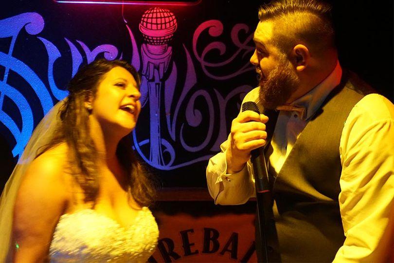 Karaoke starts the Honeymoon