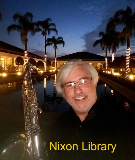 At the nixon library