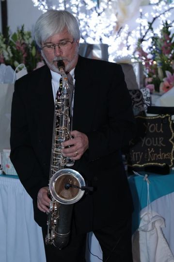 Solo saxophone performance