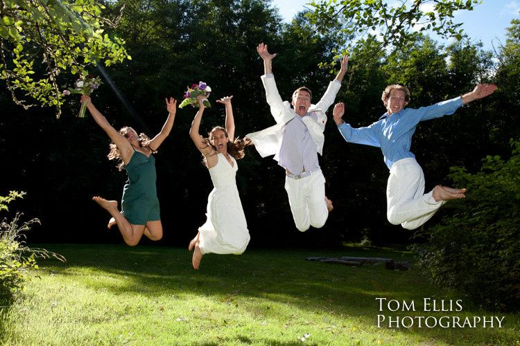 Jumping for joy - Tom Ellis Photography
