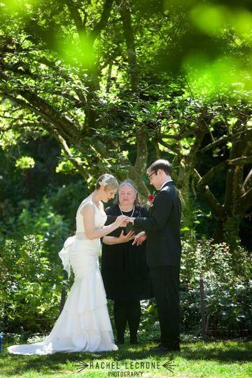 McMenamin's Cornelius Pass Roadhouse wedding with Rev. Maureen Haley