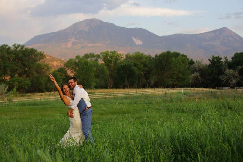 Couple with Mt. Lamborn