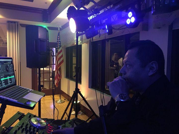 MC at an event