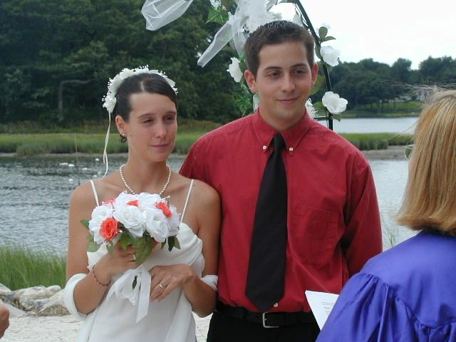 My first wedding back in 2004