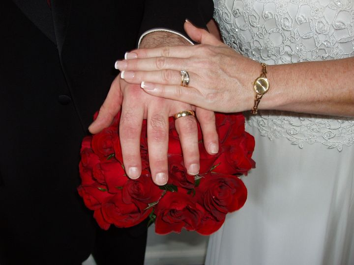Flowers with rings