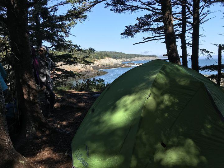 Cutler Coast Camping