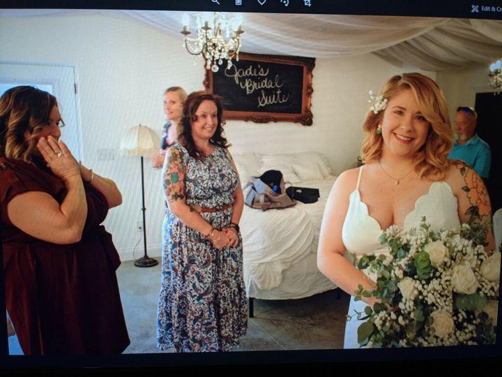 Helping Bride Jade get ready