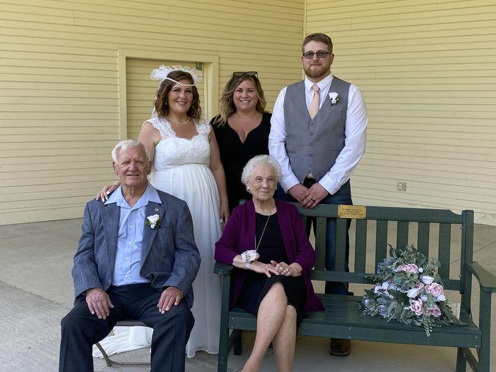 Britt, Logan and grandparents