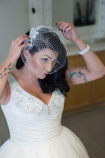 Adding the veil